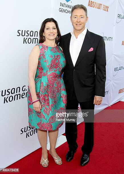 Dr Judith Salerno President CEO Susan G Komen and Jim Plante CEO Founder Pathway Genomics attend PATHWAY TO THE CURE A fundraiser benefiting Susan G...