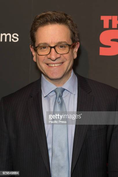 Dr Julian Zelizer attends New York premiere of IFC Film Death of Stalin at AMC Lincoln Square