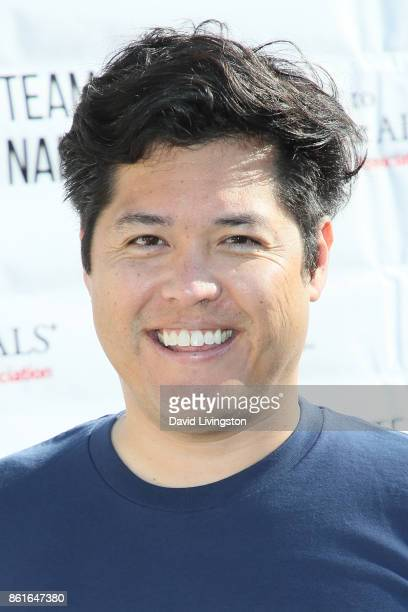 Dr Justin Ichida attends Nanci Ryder's Team Nanci at the 15th Annual LA County Walk to Defeat ALS at the Exposition Park on October 15 2017 in Los...