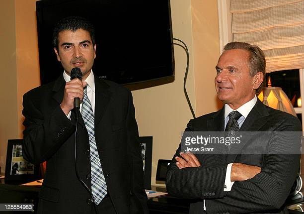 Dr Kami Parsa and Dr Andrew Ordon attend A Season of Giving for Surgical Friends Foundation event at The Mosaic Hotel on November 4 2010 in Beverly...
