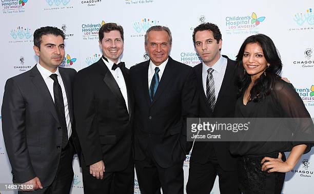 Dr Kami Parsa Dr Jay Calvert Dr Andrew Ordon Dr Kevin Brenner and Dr Anita Patel attend the Chagoury Couture Fashion Show and Annual Benefit for The...