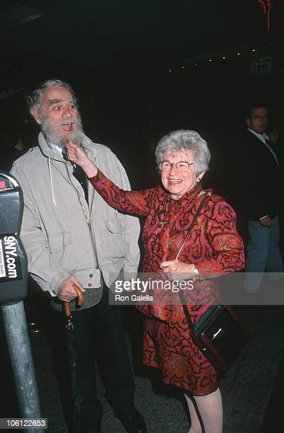 Dr. Kaplan and Dr. Ruth Westheimer during Red Cross Benefit - May 3, 1995 at Kit Kat Club in New York City, New York, United States.