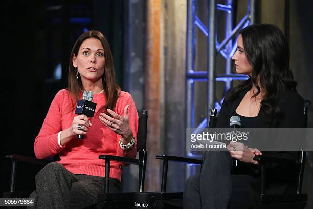 Dr Karen Latimer and Women's Heatlh Magazine Fitness Director Jen Ator discuss better eating habits and health as part of AOL Build Speaker Series at...