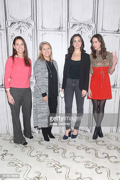 Dr Karen Latimer AOL's Chief People Officer Terri Zandhuis Women's Heatlh Magazine Fitness Director Jen Ator and Fitness Expert Tara Stiles attend a...