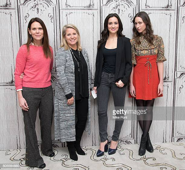 Dr Karen Latimer AOL's Chief People Officer Terri Zandhuis Women's Health Magazine Fitness Director Jen Ator and Yoga and fitness expert Tara Stiles...