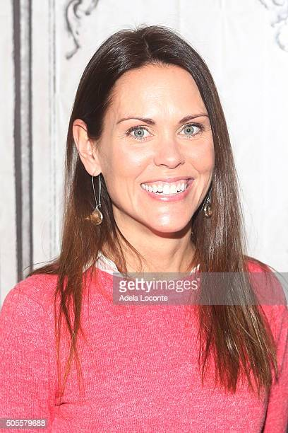 Dr Karen Latimer attends a discussion on better eating habits and health as part of AOL Build Speaker Series at AOL Studios In New York on January 18...