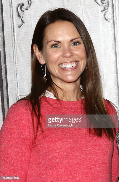 Dr Karen Latimer attends AOL Build Speaker Series Tara Stiles Dr Karen Latimer Jen Ator And Terri Zandhuis at AOL Studios In New York on January 18...