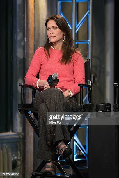 Dr Karen Latimer attends the AOL Build Speaker Series to discuss better eating habits and health and wellness at AOL Studios In New York on January...