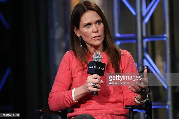 Dr Karen Latimer discusses better eating habits and health as part of AOL Build Speaker Series at AOL Studios In New York on January 18 2016 in New...