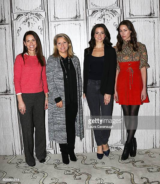 Dr Karen Latimer Terri Zandhuis Jen Ator and Tara Stiles attend AOL Build Speaker Series Tara Stiles Dr Karen Latimer Jen Ator And Terri Zandhuis at...