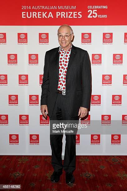 Dr. Karl Kruszelnicki attends the Australian Museum Eureka Prizes 2014 at Sydney Town Hall on September 10, 2014 in Sydney, Australia.