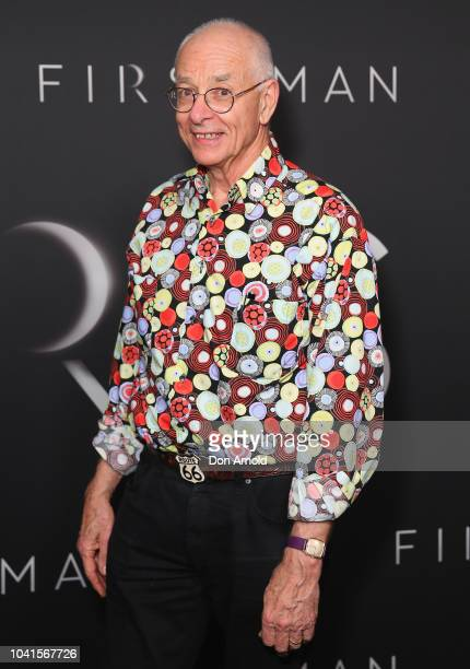 Dr Karl Kruszelnicki attends the Sydney premiere of First Man at Event Cinemas George Street on September 27, 2018 in Sydney, Australia.