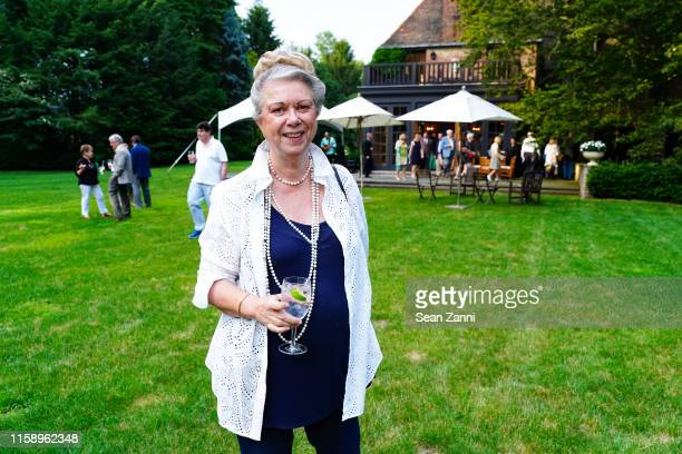 Dr Kay Sato attends A Country House Gathering To Benefit Preservation Long Island on June 28 2019 in Locust Valley New York