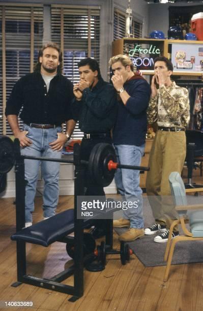 YEARS 'Dr Kelly' Episode 10 Air Date Pictured Bob Golic as Michael Rogers Mario Lopez as AC Slater MarkPaul Gosselaar as Zack Morris Dustin Diamond...