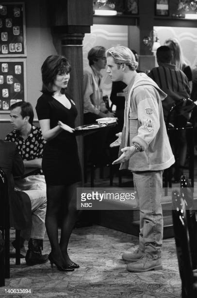 YEARS 'Dr Kelly' Episode 10 Air Date Pictured Tiffani Thiessen as Kelly Kapowski MarkPaul Gosselaar as Zack Morris Photo by Alice S Hall/NBCU Photo...