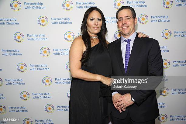 Dr Kelly Posner Gerstenhaber and David Gerstenhaber attend the Partnership with Children's Spring Gala 2016 at 583 Park Avenue on June 6 2016 in New...