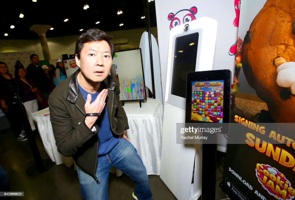 Dr. Ken Jeong appears at Cookie Con in support of Cookie Jam by Jam City : News Photo