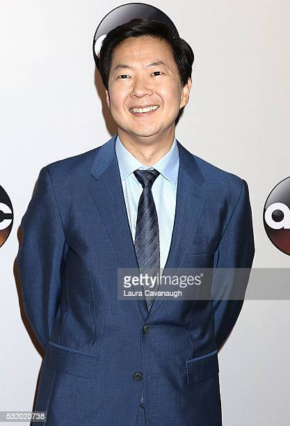 Dr Ken Jeong attends 2016 ABC Upfront at David Geffen Hall on May 17 2016 in New York City