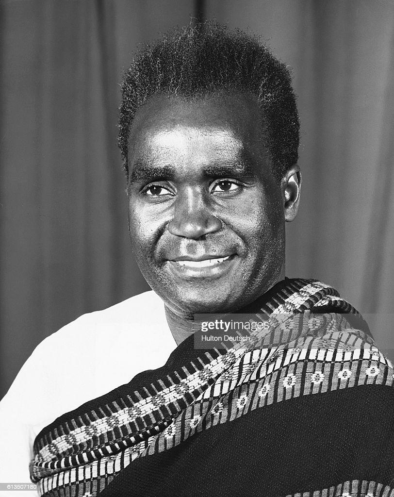 Kenneth Kaunda : News Photo