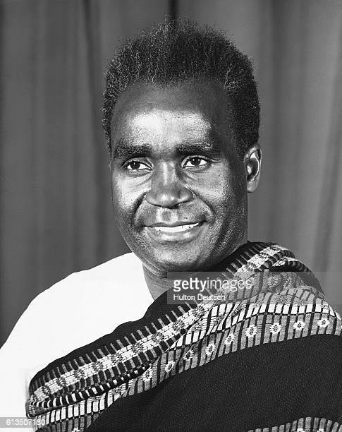 Dr Kenneth Kaunda the Prime Minister of Zambia