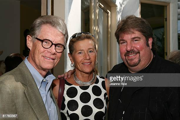 Dr Kenneth Nielsen and Rose Nielsen attends Trigg Ison Fine art exhibit for the work of Maxine Kim StussyFrankel at her home June 28 2008 in Los...