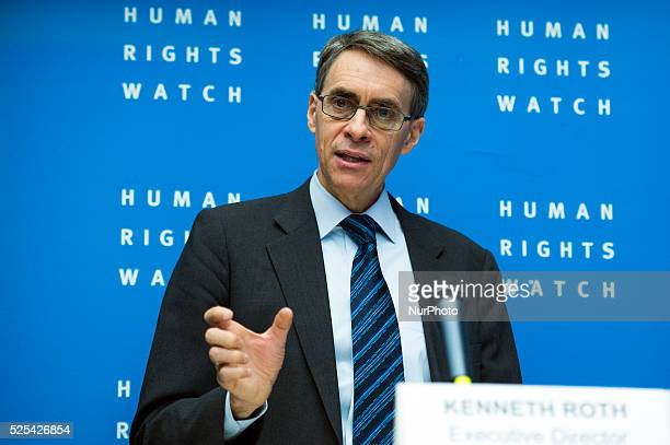 Dr Kenneth Roth from the Humans Rights Watch criticizes Presiente Barack H Obama for violate the privacy with NSA and President Bashar Hafez alAsad...