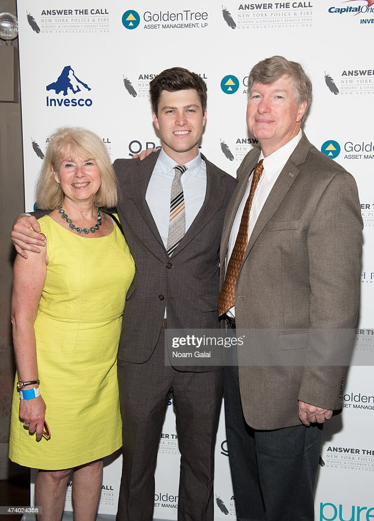 Dr Kerry Kelly Colin Jost And Daniel A Jost Attend The 3rd Annual News Photo Getty Images
