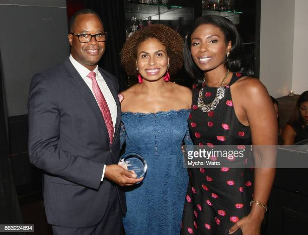 Dr Kevin Holcomb Director of Gynecology Oncology at New York Presbyterian Weill Cornell Medical College Keisha SuttonJames Vice President Inner City...