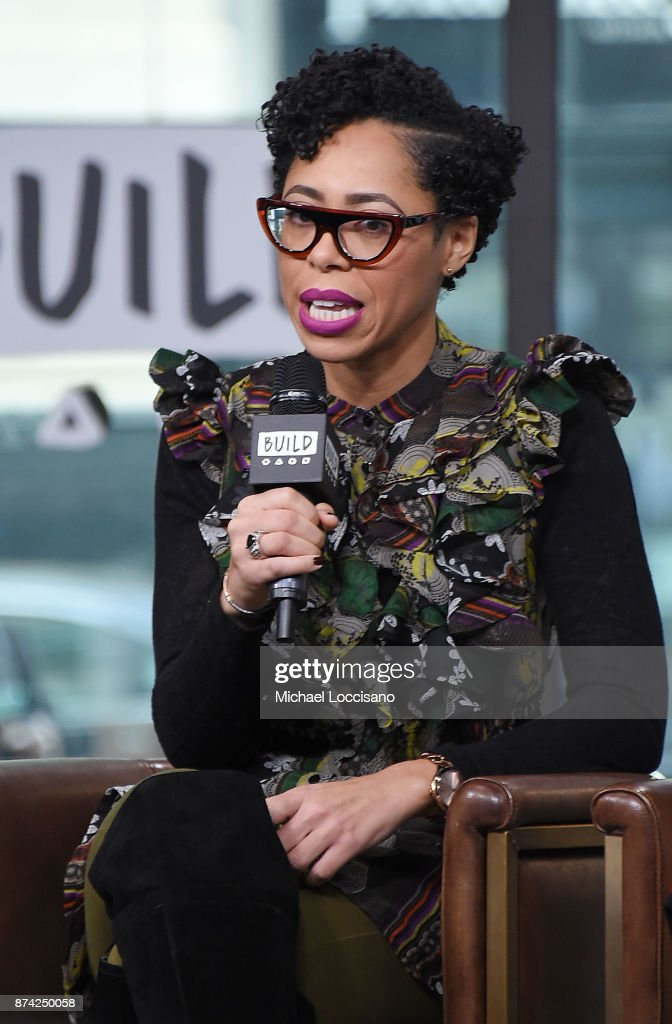 Dr. Knatokie Ford visits Build Studio to discuss the Fueled By Failure Summit with SmartGirls on November 14, 2017 in New York City.