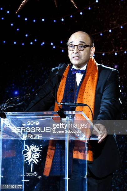 Dr Kwame Anthony Appiah speaks onstage at the Fourth Annual Berggruen Prize Gala celebrating 2019 Laureate Supreme Court Justice Ruth Bader Ginsburg...
