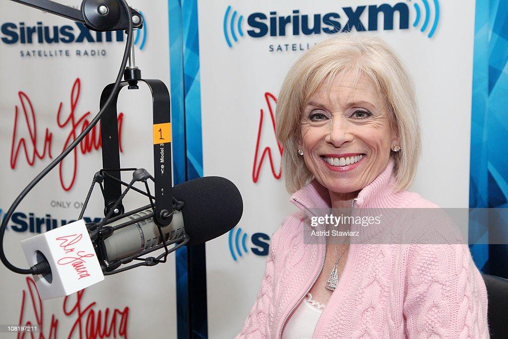 Dr. Laura Schlessinger Visits Sirius XM Studio : News Photo