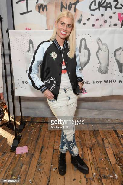 Dr Lauren poses at the Gurls Talk Festival in collaboration with Coach and Teen Vogue at Industry City on March 11 2018 in New York City
