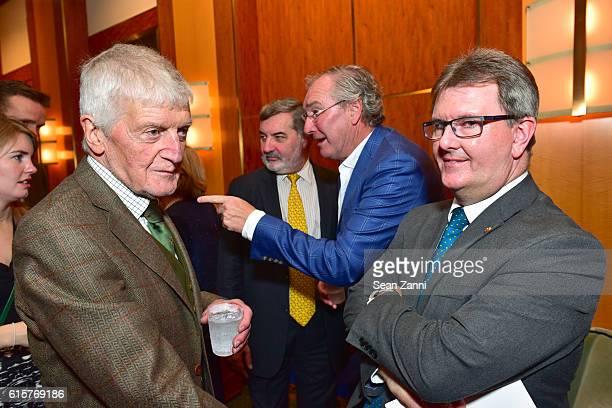 Dr Laurence G Crowley Lord Alderdice Aidan Browne and Jeffrey Donaldson attend Gregory de la Haba Terence Browne Present 'Hazel Made In Belfast'...