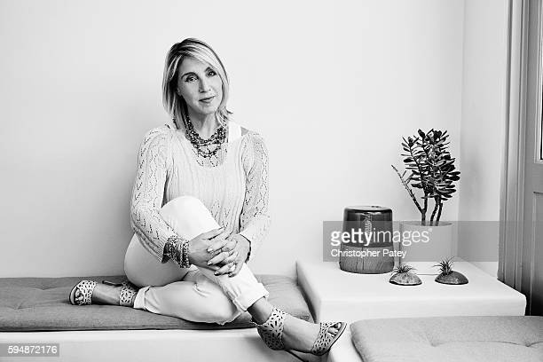 Dr. Laurie Levin is photographed for The Hollywood Reporter on June 14, 2016 in Venice, California. Published Image.