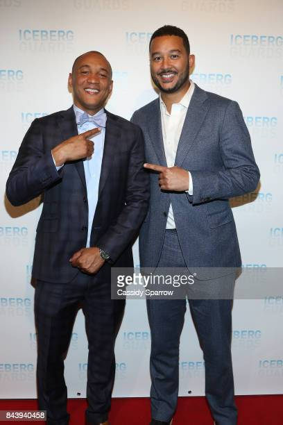 Dr Lee Gause and Alex Gause Attend Iceberg Guards Versus Fashion Week on September 7 2017 in New York City