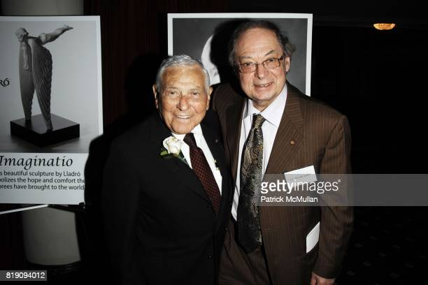 Dr Leonard Apt and Dr Harold Koller attend CASTLE CONNOLLY Medical Ltd 5th Annual National Physician of the Year Awards at The Hudson Theater on...