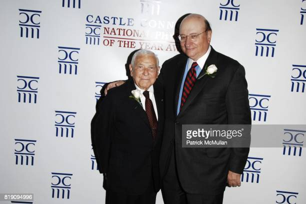 Dr. Leonard Apt and John K. Castle attend CASTLE CONNOLLY Medical Ltd. 5th Annual National Physician of the Year Awards at The Hudson Theater on...