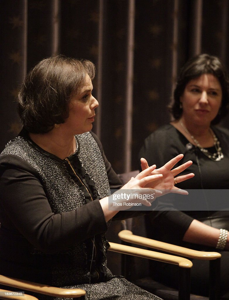Dr. Leslie Gordon and Audrey Gordon, director of the Progeria Foundation attend The New York Premiere Of HBO's 'Life According To Sam' at HBO Theater on October 8, 2013 in New York City.