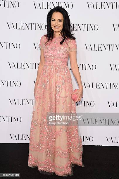 Dr Lisa Aaron attends the Valentino Sala Bianca 945 Event on December 10 2014 in New York City