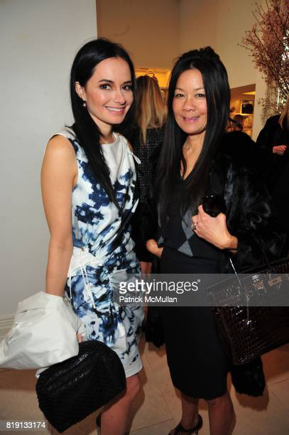 Dr Lisa Airan and Helen Lee Schifter attend VALENTINO Spring/ Summer 2010 Collection Private Luncheon and Presentation hosted by Samantha Boardman...