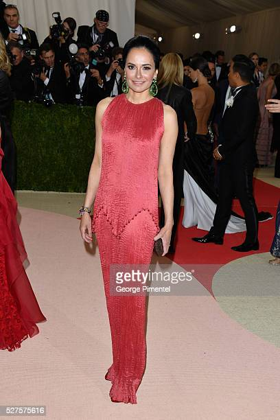Dr. Lisa Airan attends the 'Manus x Machina: Fashion in an Age of Technology' Costume Institute Gala at the Metropolitan Museum of Art on May 2, 2016...