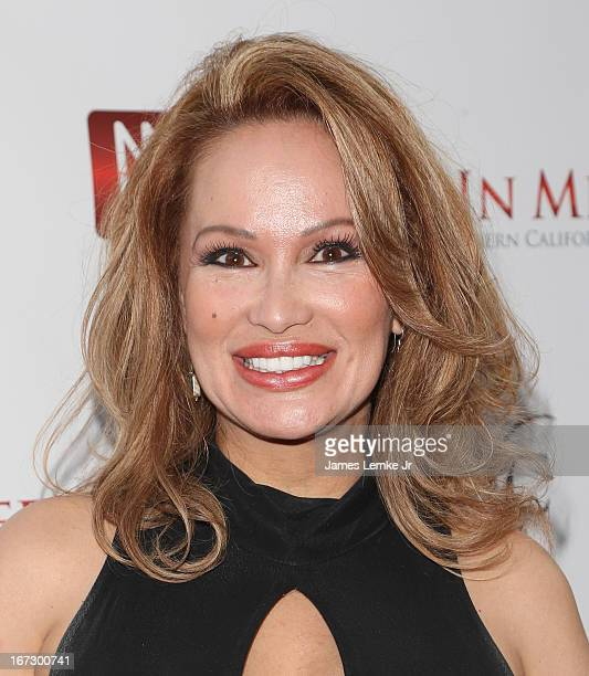 Dr Lisa Christiansen attends 56th Annual Genii Awards Show held at the Skirball Cultural Center on April 23 2013 in Los Angeles California