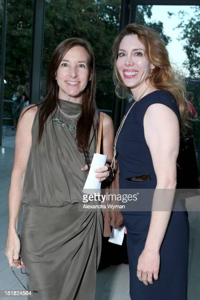 Dr Lisa Kellett and guest attend the FINCA Canada Fundraiser At TIFF 2012 during the Toronto International Film Festival on September 11 2012 in...