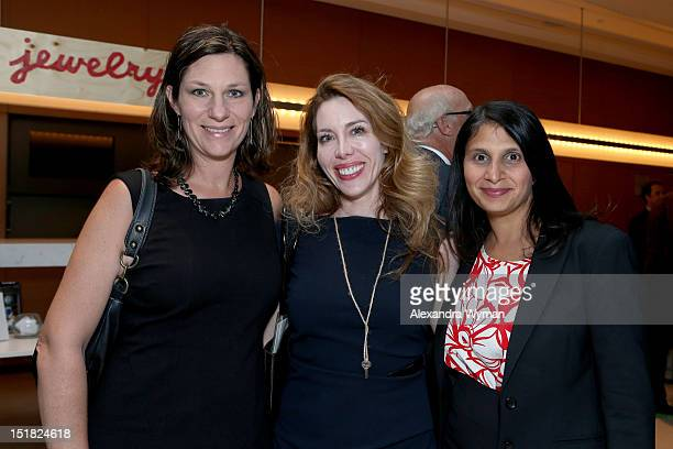 Dr Lisa Kellett and guests attend the FINCA Canada Fundraiser At TIFF 2012 during the Toronto International Film Festival on September 11 2012 in...