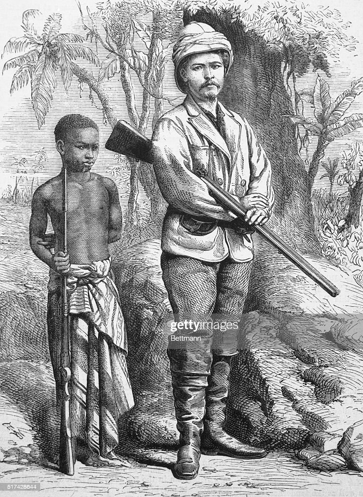 Dr Livingstone I Presume Chicago Henry Morton Stanley And His African Boy  Kalulu And Dr David