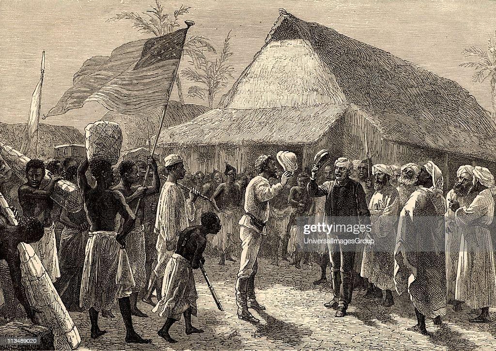 Dr Livingstone I Presumeu0027 Henry Morton Stanley Welshborn American  Journalist And Explorer Meeting Dr David
