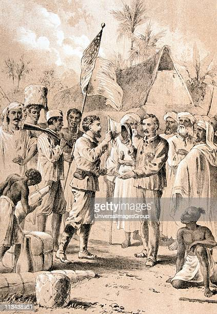 dr livingstone i presume the historic meeting between henry morton stanley welsh explorer and journalist and - Dr Livingstone I Presume