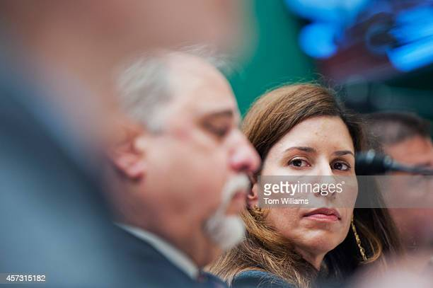 Dr Luciana Borio of the US Food and Drug Administration appears during a House Energy and Commerce Oversight and Investigations Subcommittee hearing...