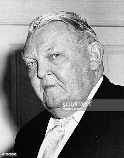 Dr Ludwig Erhard the Minister of Economics in the Christian Democratic Party