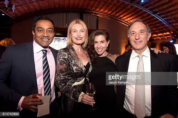 Dr M Sanjayan Tasca Musk event chair Gillian Wynn Conservation International CEO and Chairman Peter Seligmann attend the 20th Annual Los Angeles Gala...